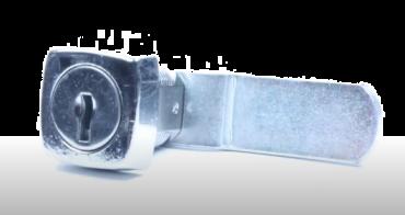 Square Faced 1334 Cam Lock 16mm Body