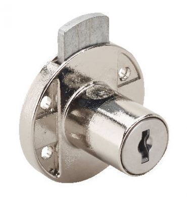 Ronis France 18600-02 Round Drawer Lock with Long Bolt