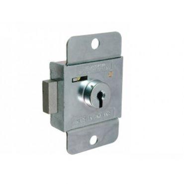 L&F 2216 7 Lever Deadbolt Rim Lock