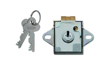 Union 4348 7 Lever Deadbolt Locker Lock - HM Series