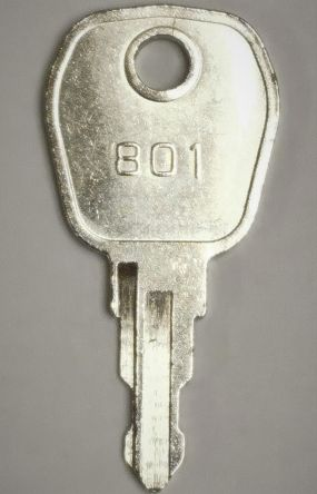 Haes 801 Spare Door Key, Spare 801 Door Key for Haes Fire Alarm Panels