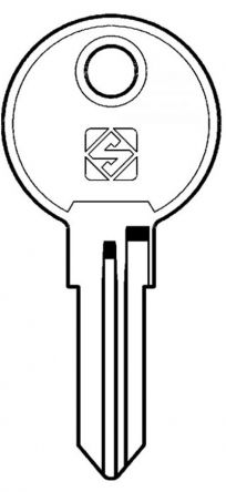 ReplacementDams System 300Keys  Codes 001 - 200  Master Key - MK300  For Round Face Locks Only