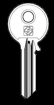 Silca AB54 Key blank