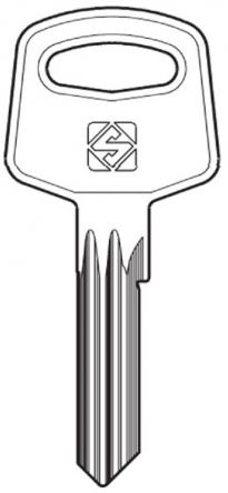 Replacement Abus SL Series Keys