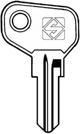 Replacement Arfe & Keya ZSeries Keys  Codes Z100 - Z999