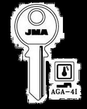 JMA AGA-4I Key blank
