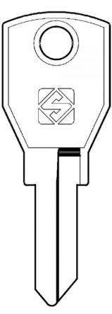 Silca AGA2 Key blank