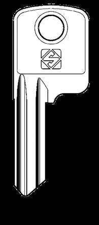 Silca AKR10 Key blank