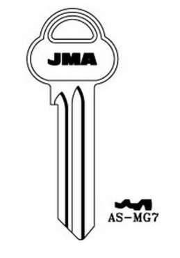 JMA AS-MG7 Key blank