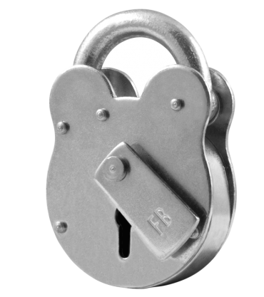 ASEC FB1 2 Lever Old English Padlock - AS10590