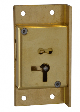 64mm RH 4 Lever Cut Cupboard Lock