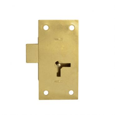 ASEC 100 50mm 1 Lever Straight Cupboard Lock