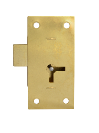 1 Lever Straight Cupboard Lock