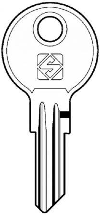 Silca BA5 Key blank