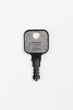 Replacement BMB Germany S Series Keys  Codes S001 - S200  Usually found on office furniture  Master Key - BMBS MST  Image of key is for illustration
