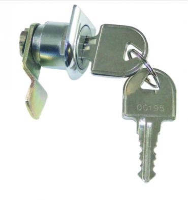 Asec Camlock To Suit DAD Post Box  A 15mm cranked cam camlock to suit various post boxes Features  Horseshoe fixing 2 keys supplied Keyed to differ
