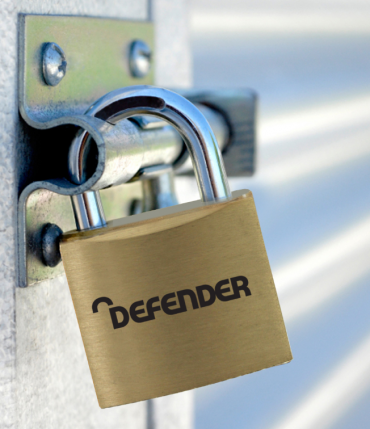 Defender Brass Open Shackle Padlock