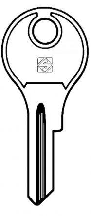 Silca DL1R Key blank