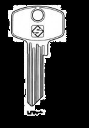 Silca DM18 cylinder key blank  to suitDOM locks  Steel Key