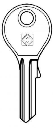 Silca DM4R Key blank