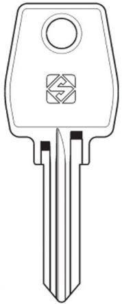 L&F (Eurolocks) 43 Series Master Key