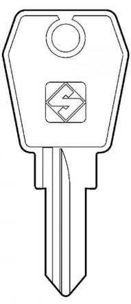 L&F Eurolock 25 Series Master Key