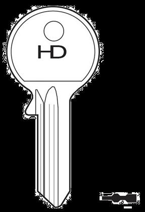 HD FF15 Key blank