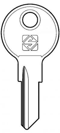 Replacement Senator & Touch T6OLDMST Master Key  For Senator & Touch T6 old Series Locks - THREADED LOCKS ONLY For lock codes T6 001 - 150