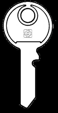 Silca HEN1 Key blank