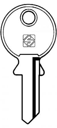 Silca HW1 Key blank
