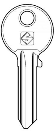 Replacement Iseo ME Series Keys