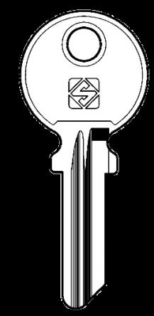 Silca IF6 Key blank
