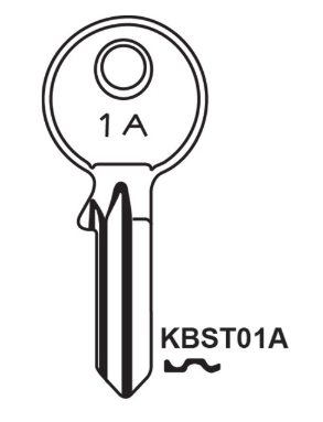 JMA KB001A Key blank