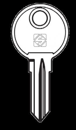 Silca KI12 Key blank