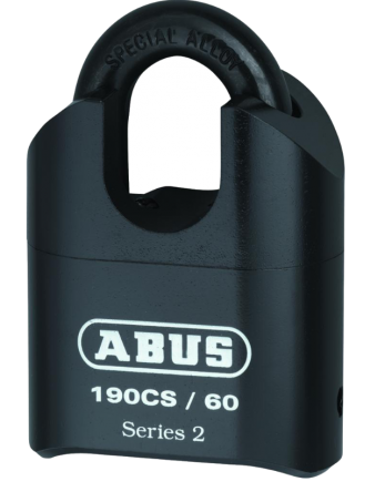 ABUS 190CS/60 Heavy Duty Combination Closed Shackle Padlock