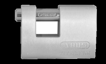 ABUS 82TI Series Titalium Shutter Sliding Shackle Padlock