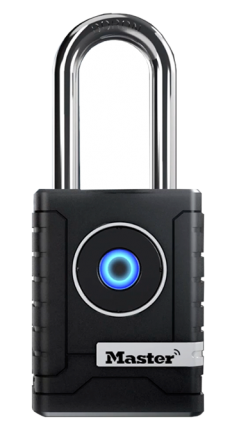 Master Lock Weather Resistant Long Shackle Bluetooth Padlock