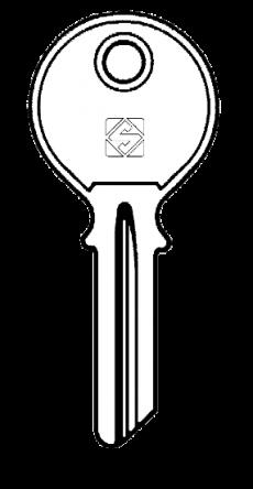 Silca LAP1 Key blank