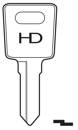 HD LAS24 Key blank