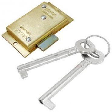 """Legge Brass Cabinet Lock 2""""/51mm"""
