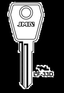 JMA LF-33D Key Blank