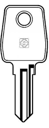 Silca LF22 Key blank