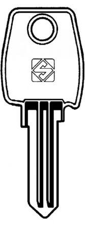 Replacement L&F Garran Locker G21A Master Key For L&F Garran Locker G Series Locks For lock codes G1001 - G5000