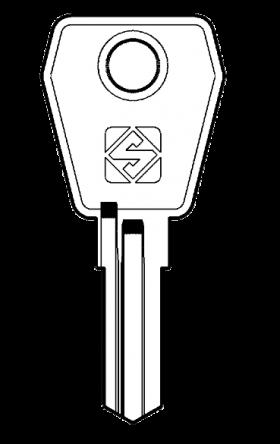 Silca LF46R Key blank