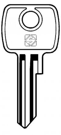 Silca LF4R Key blank