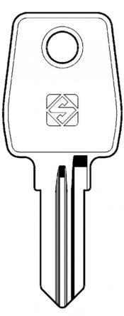 Silca LF57 Key blank