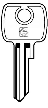 Replacement Henderson Garage Door Series Keys