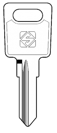Silca LS11R Key blank