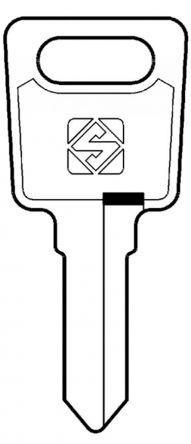 Silca LS14 Key blank