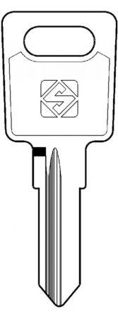 Silca LS9R Key blank